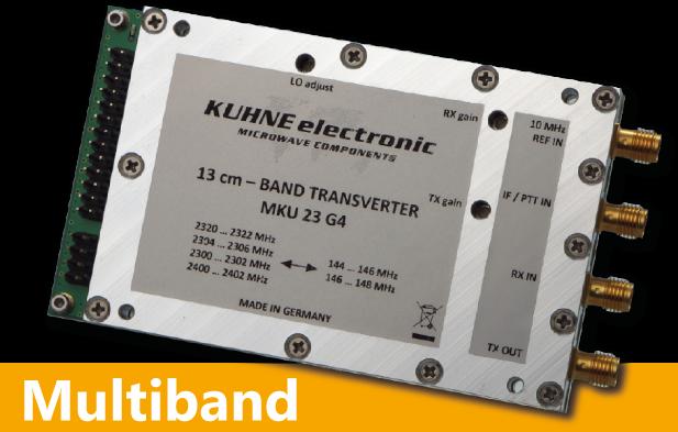 MKU 23 G4, 13 cm Transverter - Kuhne Electronic Amateur Radio Shop