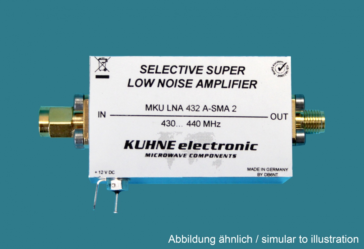 Mku Lna 432 A Sma Low Noise Preamplifier Webseite Uhf Diagramm