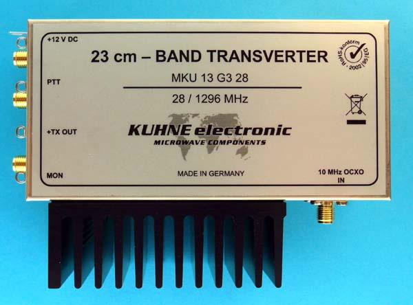 MKU 13 G3 28, 23 cm Transverter - Kuhne Electronic Amateur Radio Shop