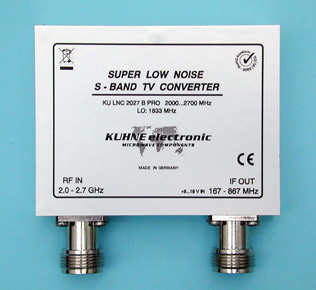 KU LNC 2027 B PRO, Super Low Noise S-Band TV