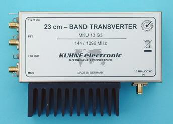 MKU 13 G3, 23 cm Transverter - Kuhne Electronic Amateur