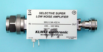 MKU LNA 432 A, Selective Low Noise Amplifier - Kuhne